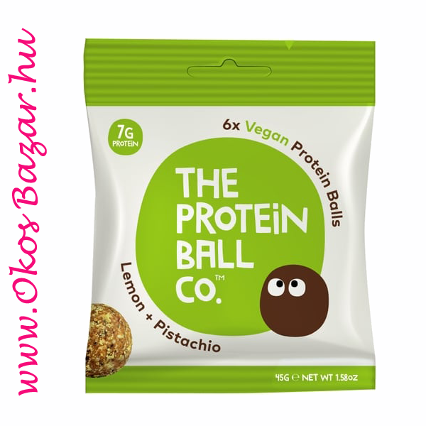 The Protein Ball Lemon Pistachio fehérje golyó