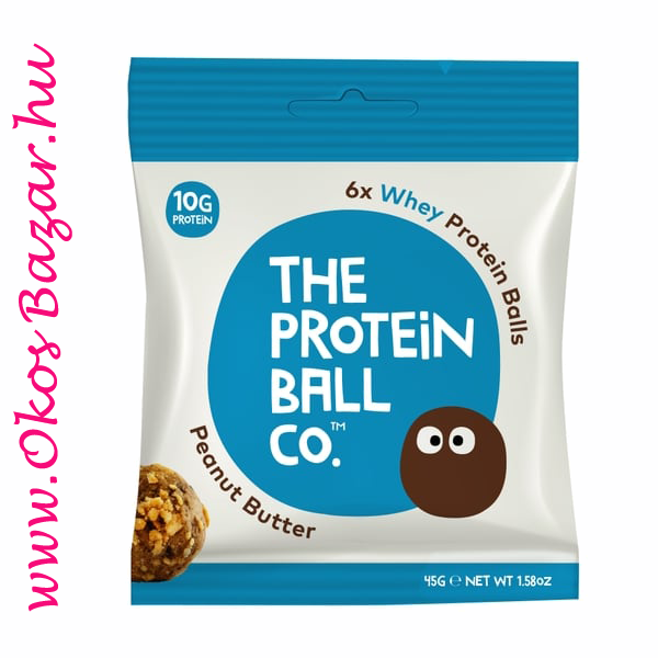 The Protein Ball Peanut-Butter fehérje golyó