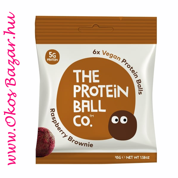The Protein Ball Raspberry-Brownie fehérje golyó