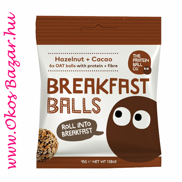 hazelnut Cacao BreakFast Balls