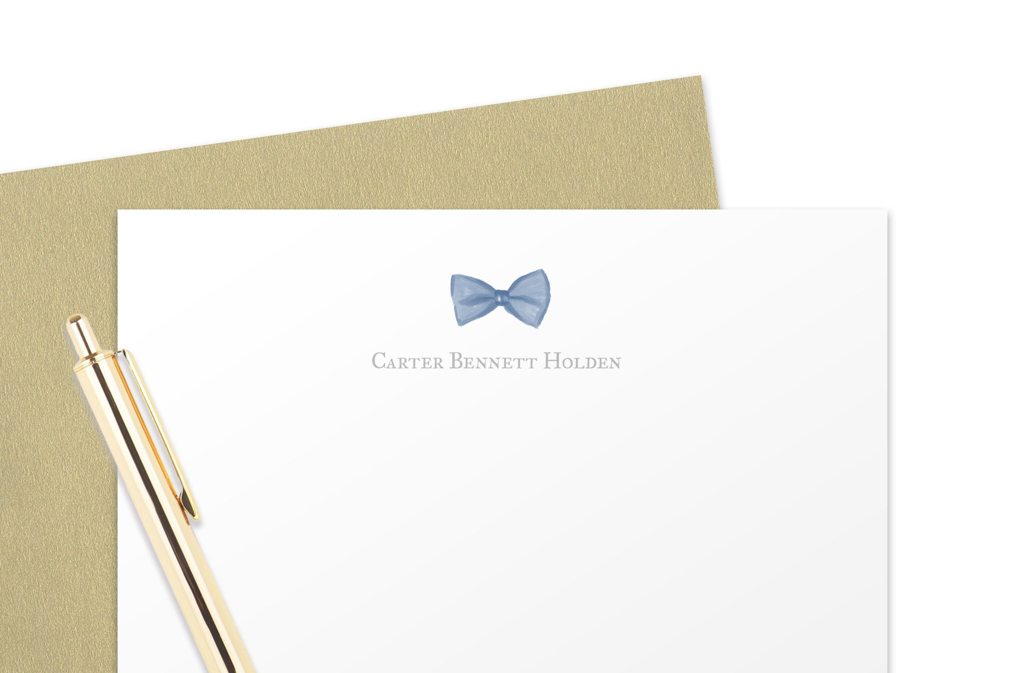Bow Tie Baby Note Cards