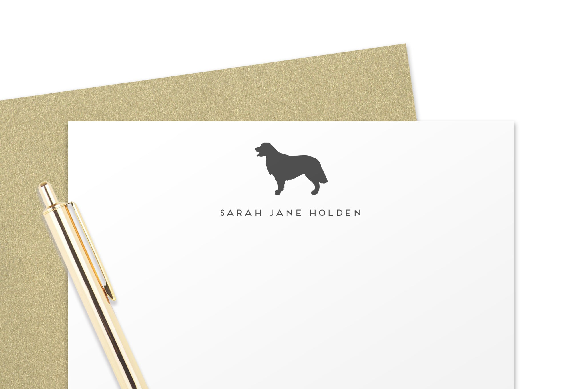 Golden Retriever Note Cards