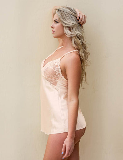 SILK SATIN NIGHTIE R80857