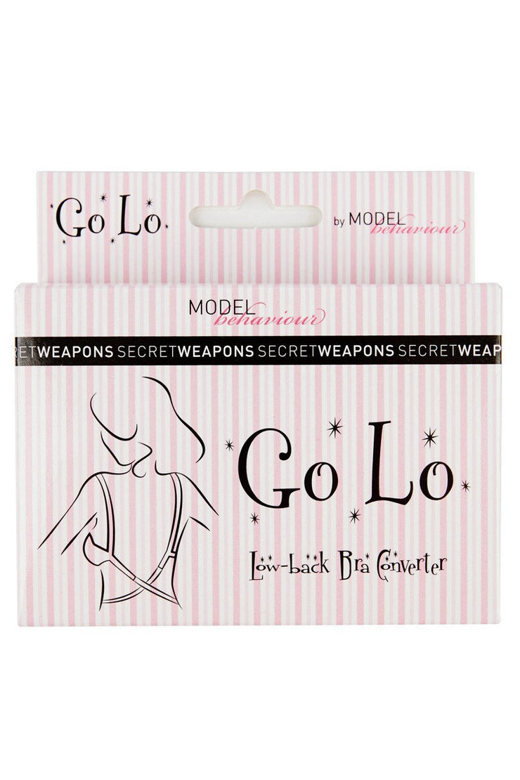 SECRET WEAPONS GO LO LOW BACK BRA CONVERTER