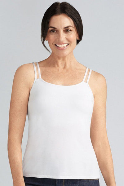 AMOENA VALLETTE SINGLET WHITE 70230