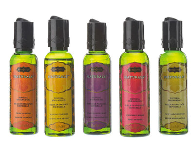 NATURALS MASSAGE OIL PASSION BERRY