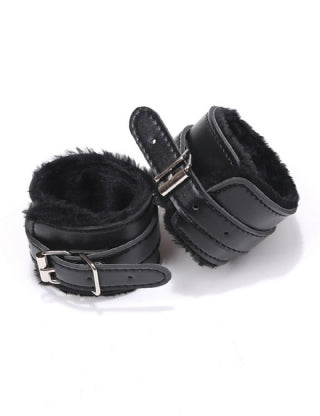 LEATHER HANDCUFFS 807261