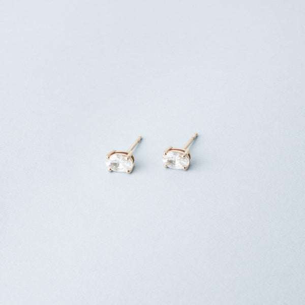 Auris - Oval Earrings