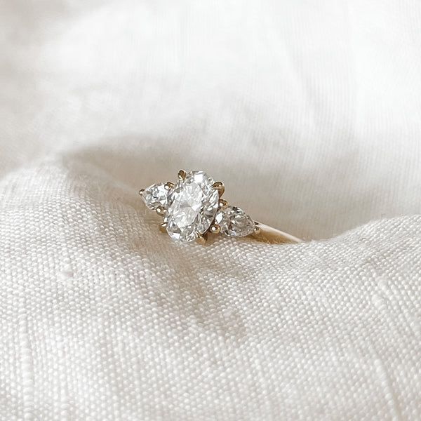 Ania • Trilogy Diamond Engagement Ring