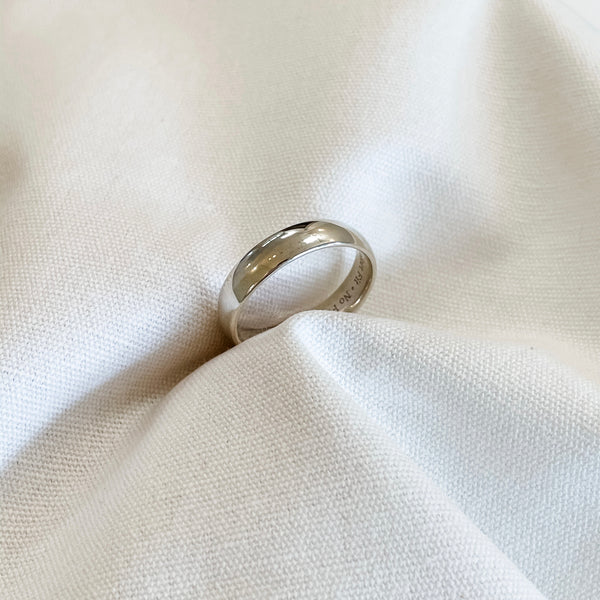 Wide Wedding Band