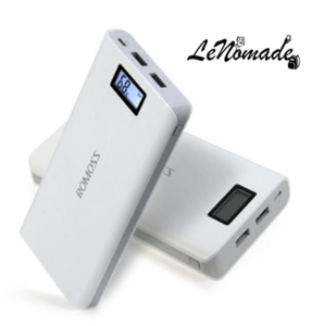Batterie externe 20000 mAh, Batterie externe, LeNomade, Power Bank, recharge