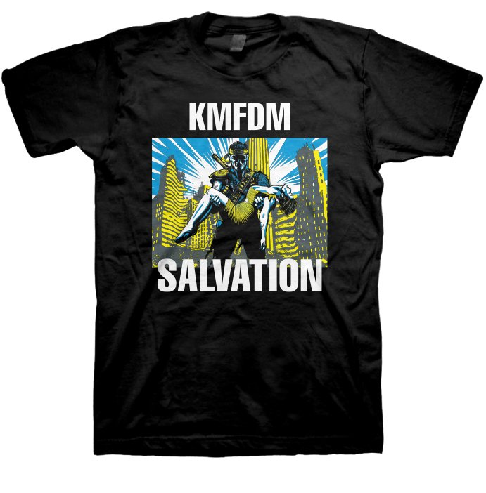 """Salvation"" Tour 2015 Tee - LIMITED RUN!"