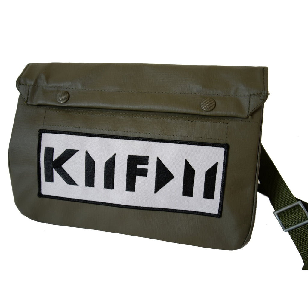 Custom Branded Gas Mask Bag - Cut Logo