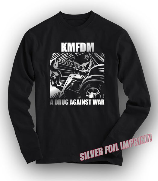 DRUG Silver Foil LONG SLEEVED Tee