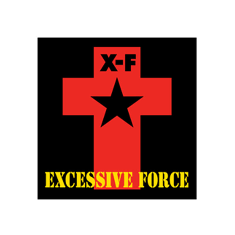 Excessive Force Logo Sticker