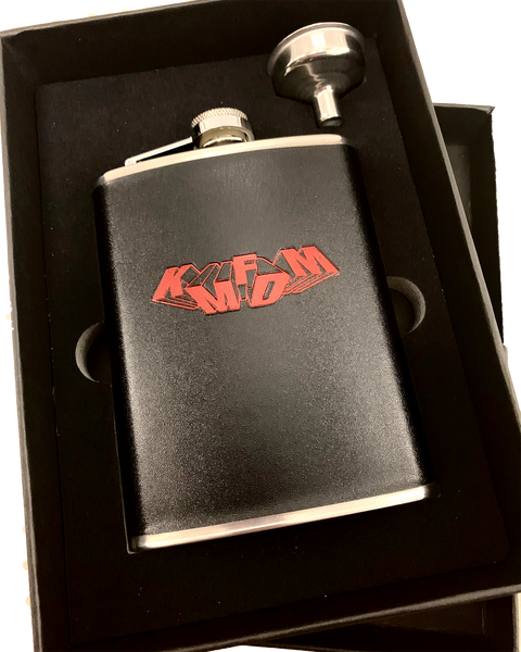 Tumbling Logo Flask - NEW!