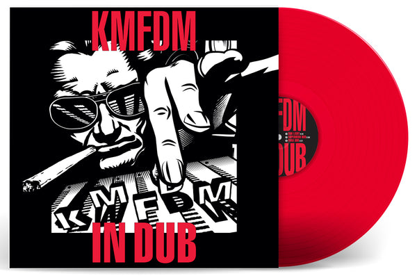 KMFDM IN DUB 2-LP Vinyl - NEW! - FOUR COLORS AVAILABLE!