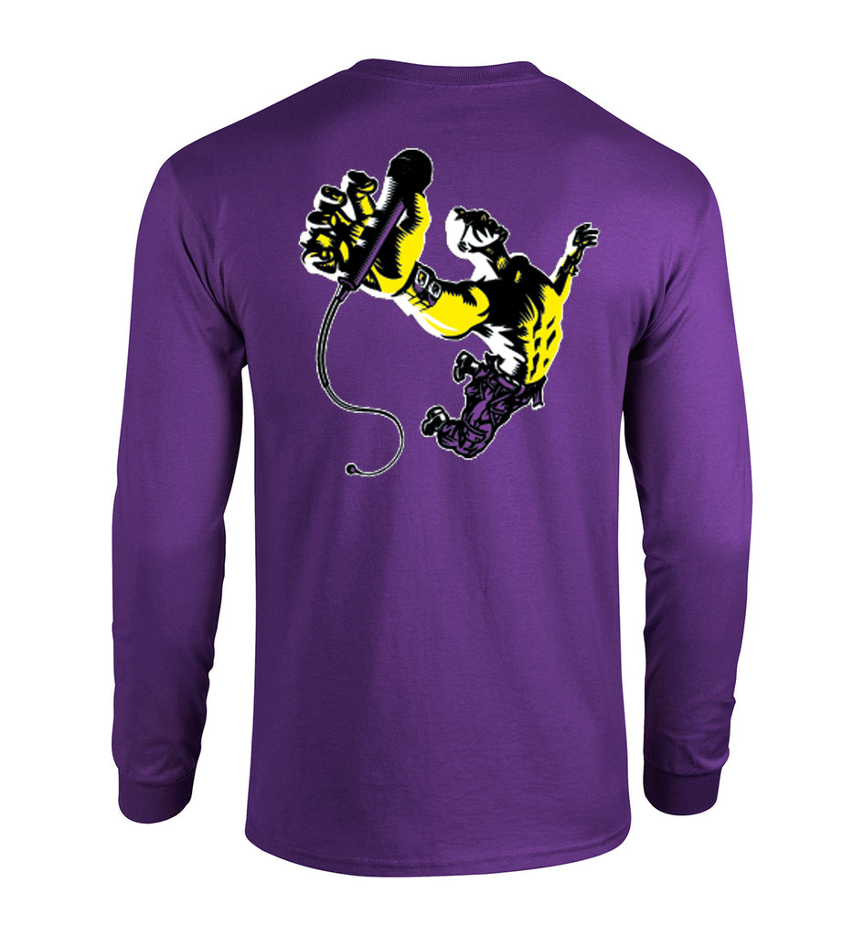 BLITZ 10th Anny Long-sleeved Tee - PURPLE - Limited!