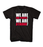 """Glory"" Lyric Tee - WE ARE STRONG"