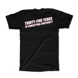 35th Anniversary Tee - BLACK