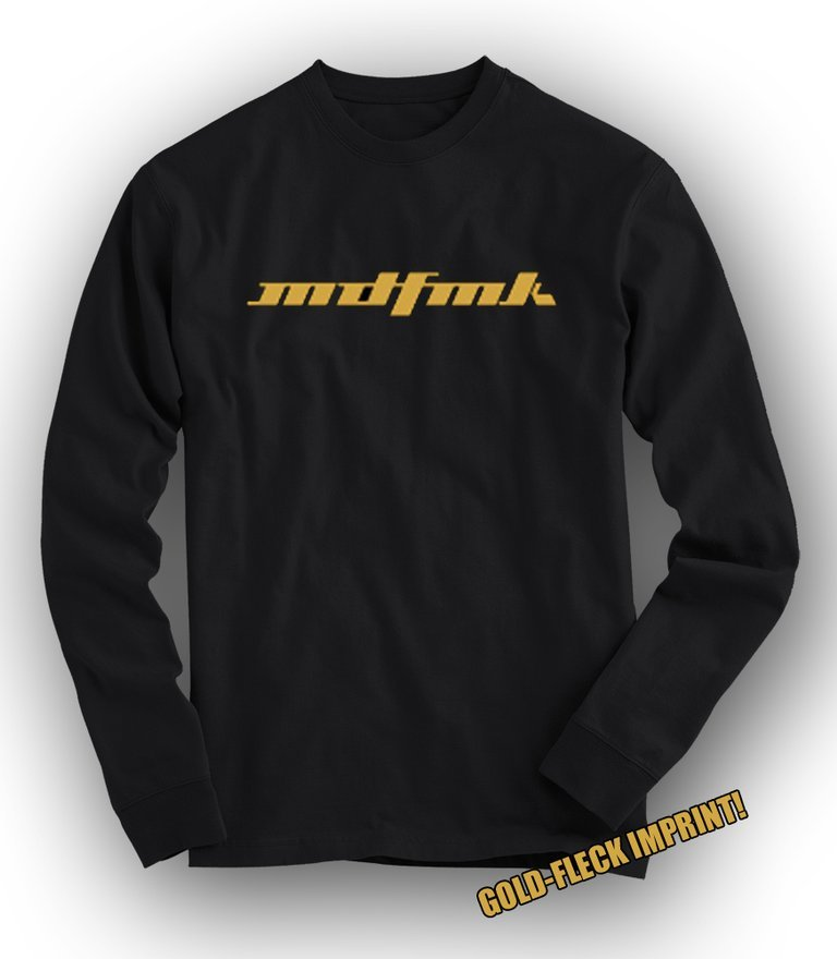 MDFMK Gold-fleck TOUR Long-Sleeved Tee - LIMITED!