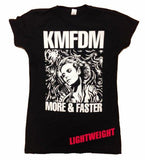 MORE & FASTER Tee - Black