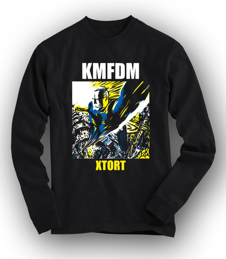 XTORT Long-sleeved Tee - NEW!!!
