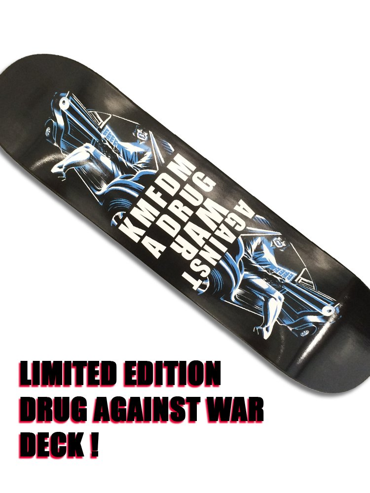 """DRUG"" Skate Deck - LIMITED"