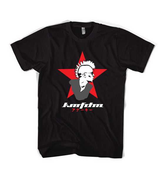 KMFDM Entertainment Logo Tee - NEW!