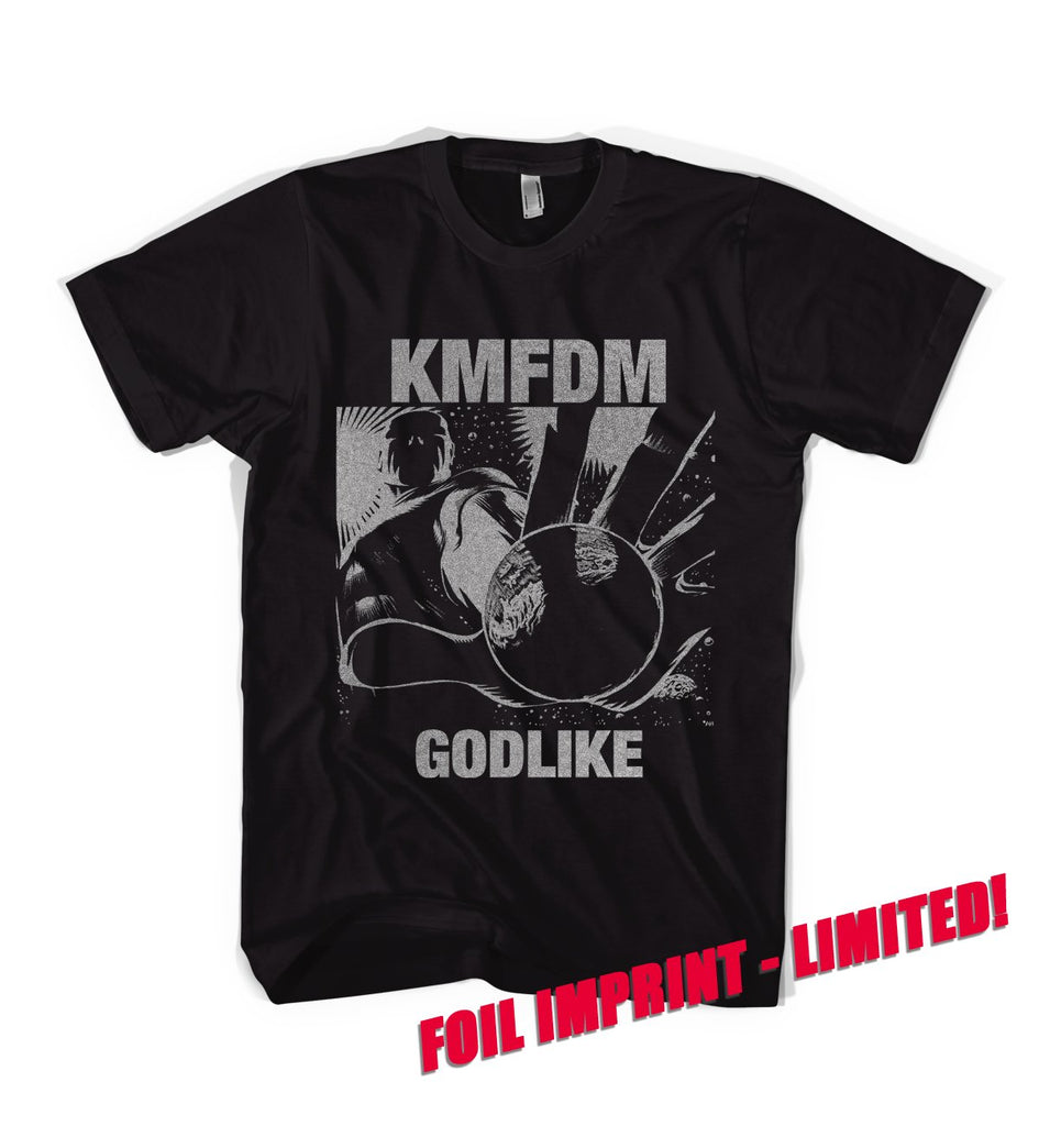 GODLIKE SILVER FOIL IMPRINT Tee - Limited!