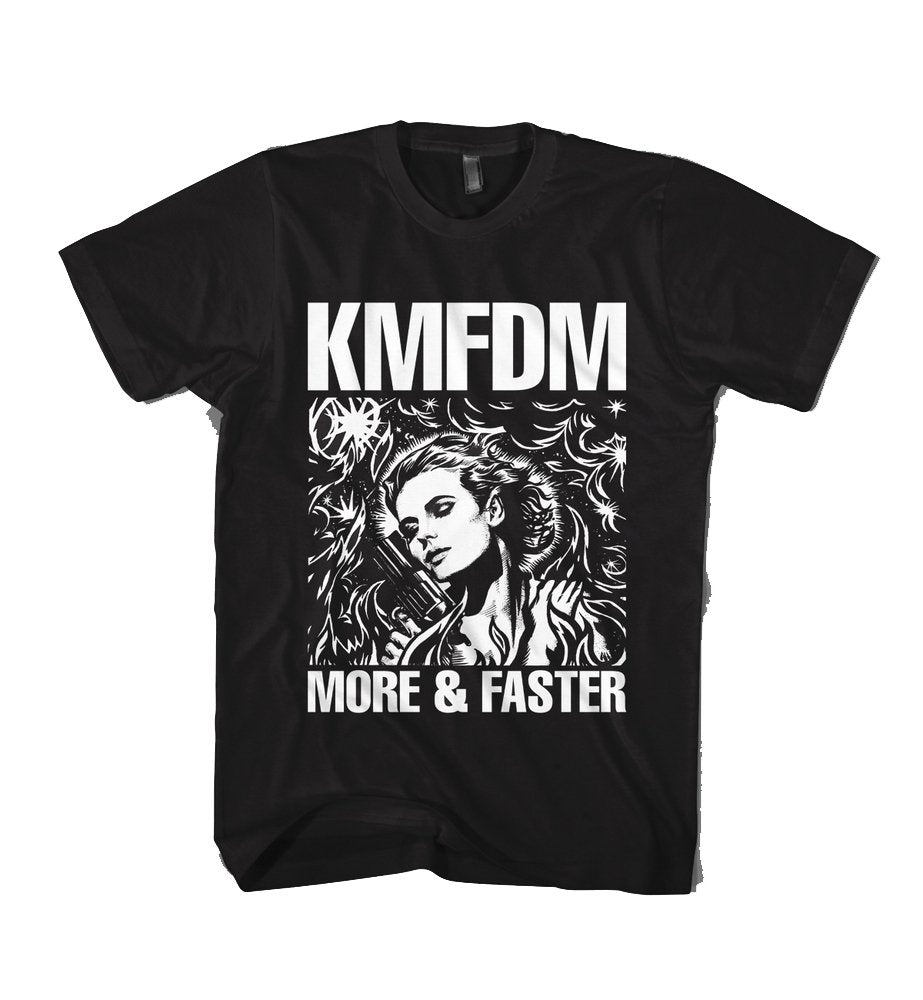 MORE & FASTER Tee