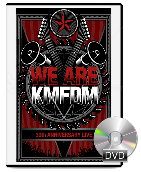 "Limited Ed. ""We Are KMFDM!"" 30th Anniversary Tour DVD"