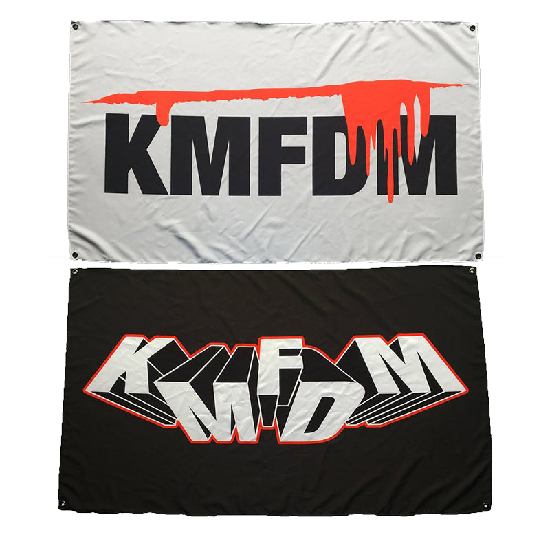 KMFDM Flags - Pair or Singles