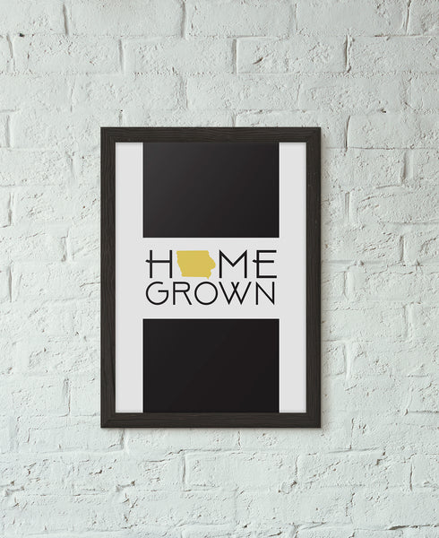 Home Grown Iowa Print