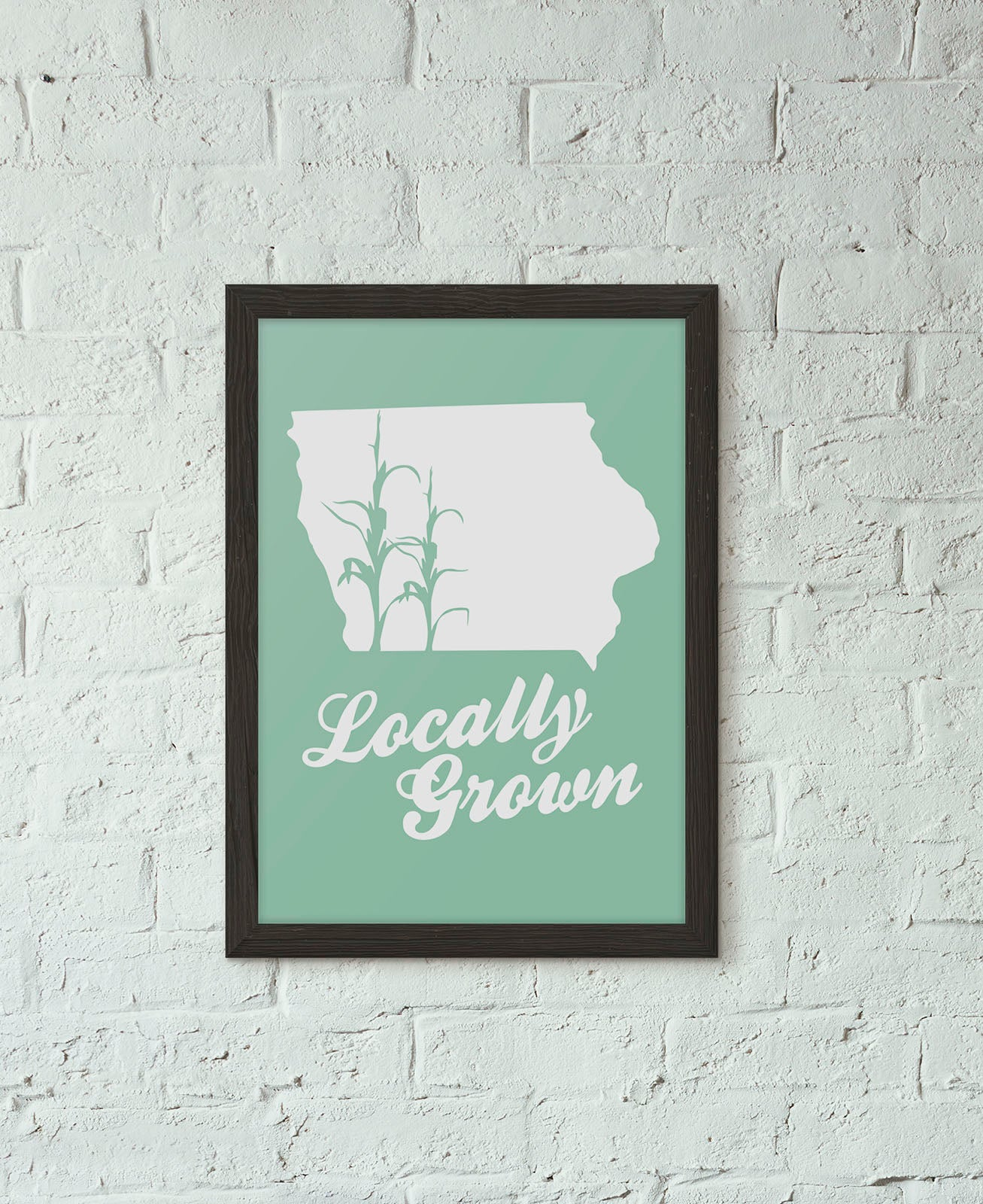 Locally Grown Art Print