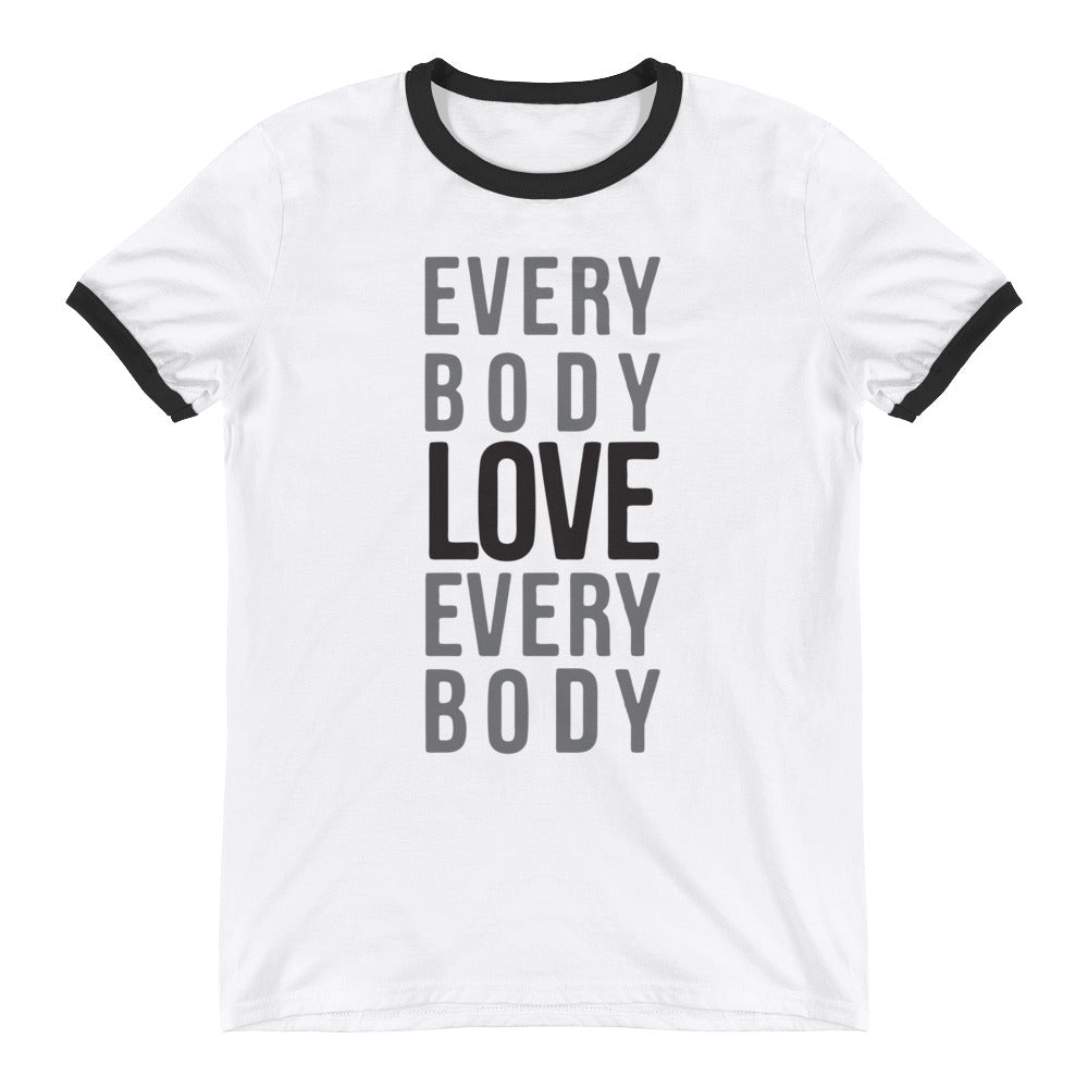 Everybody Love Everybody Ringer T-Shirt