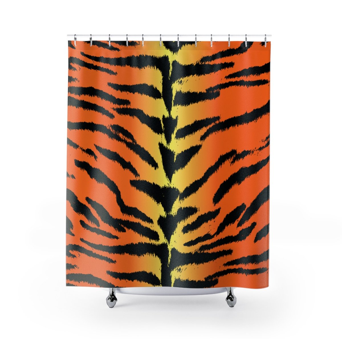 Bengal Tiger Shower Curtains-Home Decor-Printify-71x74-Pixie Cheetah