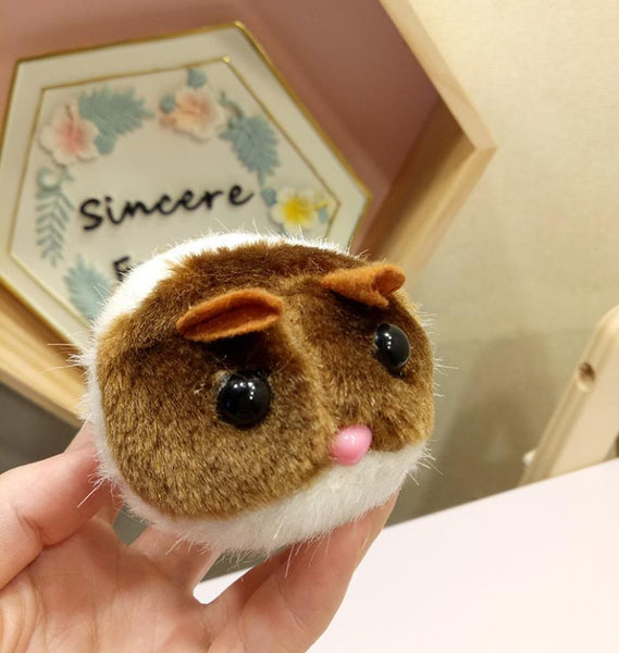 Interactive Pull String Cute Shaking Plush Hamster Toy-Toys-Pixie Cheetah-Pixie Cheetah