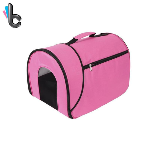 Small Portable Soft-Sided Single Shoulder Pet Travel Carrier for Cats-Carrier-Pixie Cheetah-Pixie Cheetah