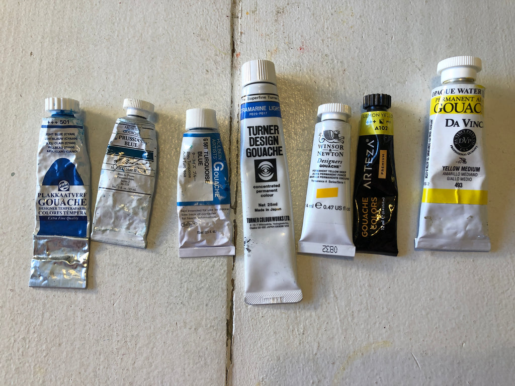 Gouache - Paint Reviews