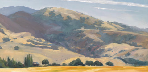 Mt. Diablo Blues  - Original Oil Painting