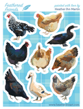 Feathered Flock Stickers