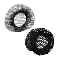 Hair Net Bun Cover Black 2 Pcs