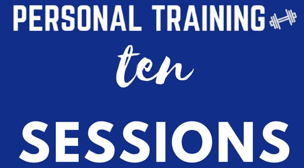 10 Personal Training Sessions - Mike Padua Jr