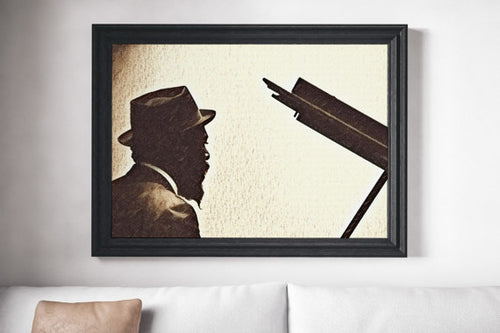 Thelonious Monk Painting Poster Jazz Art Print