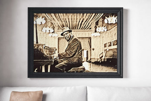 Thelonious Monk Poster Jazz Art Painting Print