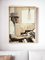 Nat King Cole Poster Jazz Art Painting Print