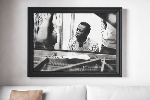 Miles Davis Poster Cool Jazz Art Painting Print