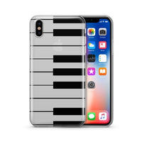 The Piano Keyboard - Clear TPU Case Cover