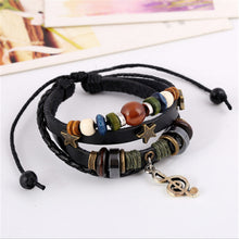 Punk Style Leather Bracelet